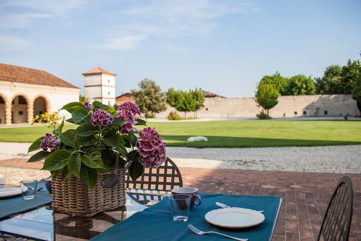 Alloggio villa Sangiantofetti-Rigon - Ponte di Barbarano - Appartement