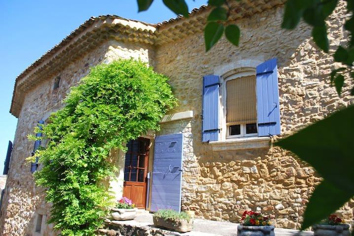 Mas du Vieux Chemin, Gîte 90m² - Saint-Victor-la-Coste - Apartamento