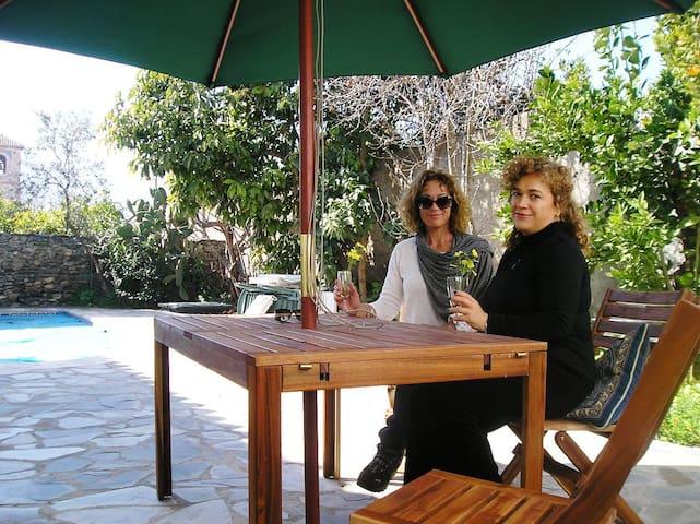 Charming House with Pool nr Granada -  El Valle - Villa