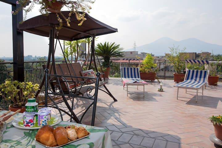 Vesuvio Residence: Welcoming family - Striano - B&B/民宿/ペンション