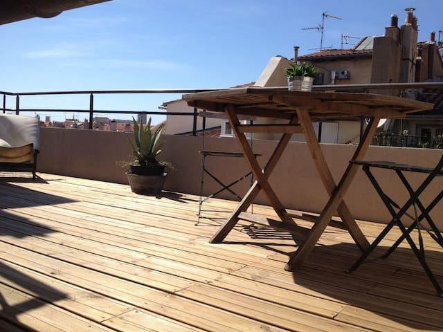 Small Loft roof terrace Vieux Port - Marseille