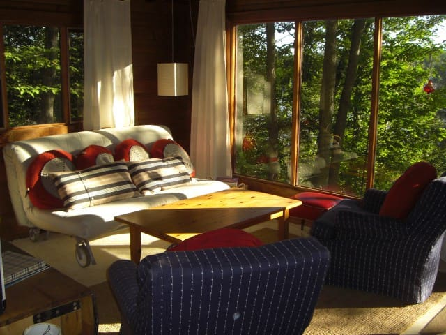 Lake Front Retreat + Sauna and Summer Guesthouse - Haliburton