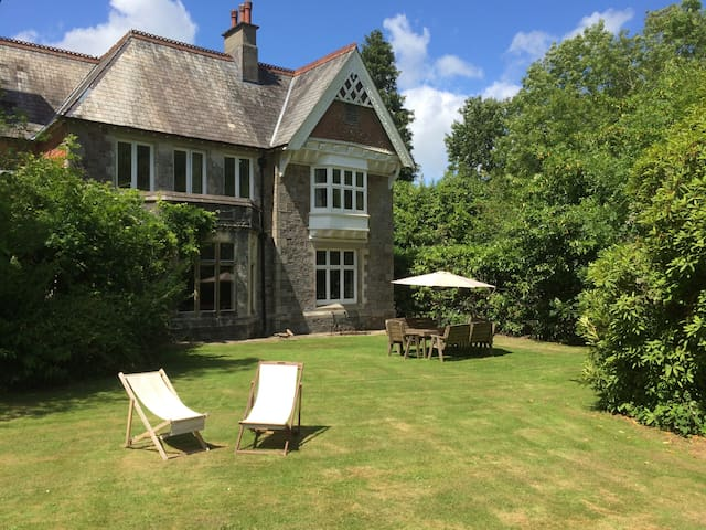Country House with Bluebell Wood - Buckfastleigh - Hus