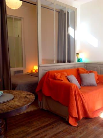 Grand studio de vacances à la mer - Mers-les-Bains - Apartamento