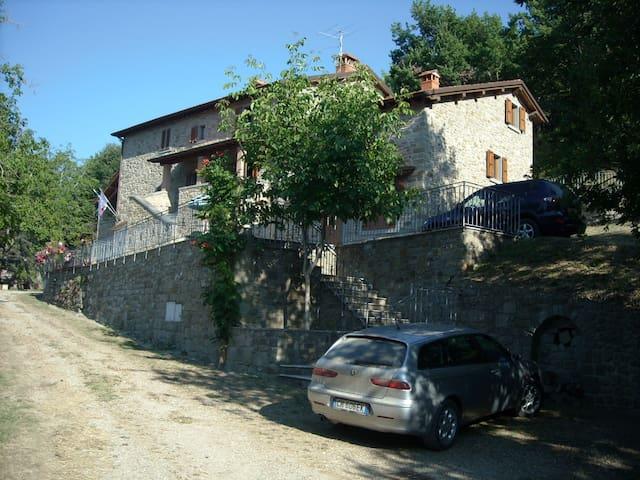 RESIDENZA LA CAPANNINA, Toscana, IT - Pratovecchio-Stia - Leilighet