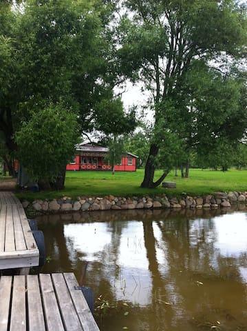 Уютный дом на берегу Москов. моря - Dubna