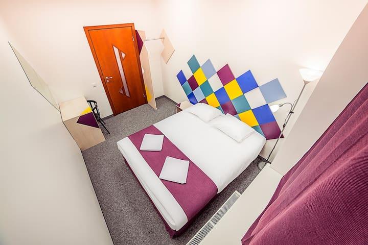 Chambre confortable dans le centre - Riga - Bed & Breakfast