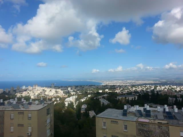 Wonderful sea view - Full apartment - Haifa - Lägenhet