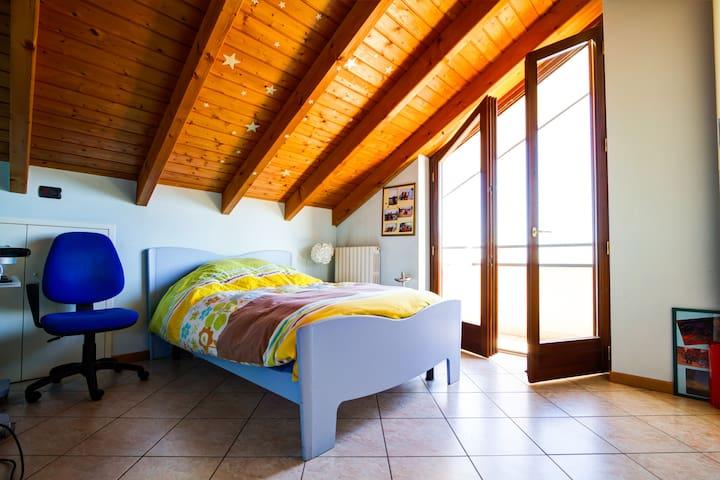 Quiet Attic in Turistic Area - Borgomanero - 公寓