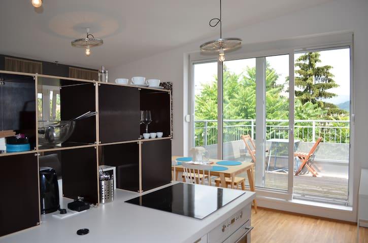Apartment Dachterrasse Graz Lend - Graz - Loft