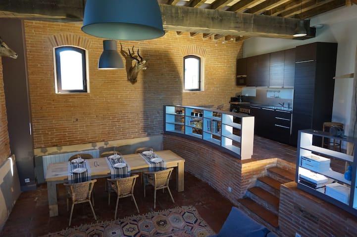 Luxuous flat near Airbus Toulouse - Beauzelle - Hus