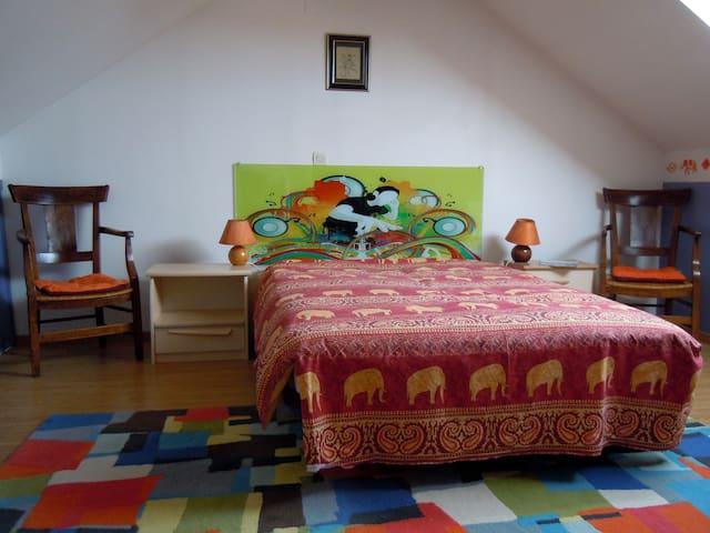 Bright attic suite - 25 m2 - Montigny-lès-Metz - Huis