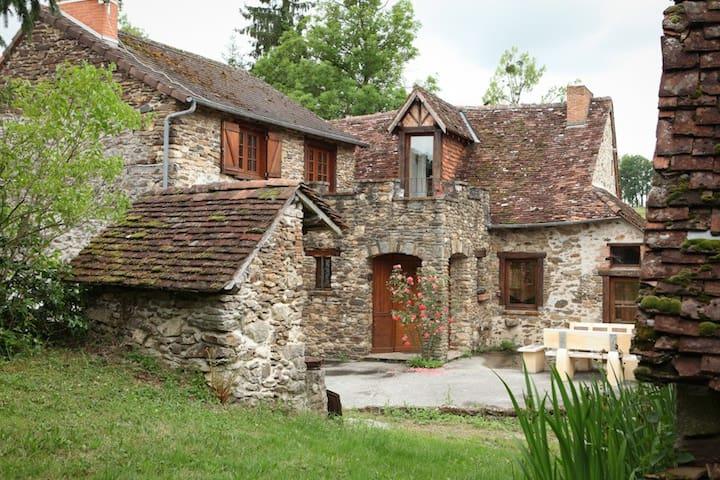 Gîte de Charme Les Levades - Arnac-Pompadour - Haus