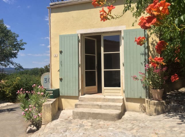 Authentic stone house apartment - Massillargues-Attuech - Daire