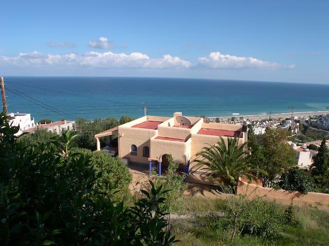 Astonishing sea sight, swimming pool, near Macenas - Ventanicas-el Cantal - 別荘