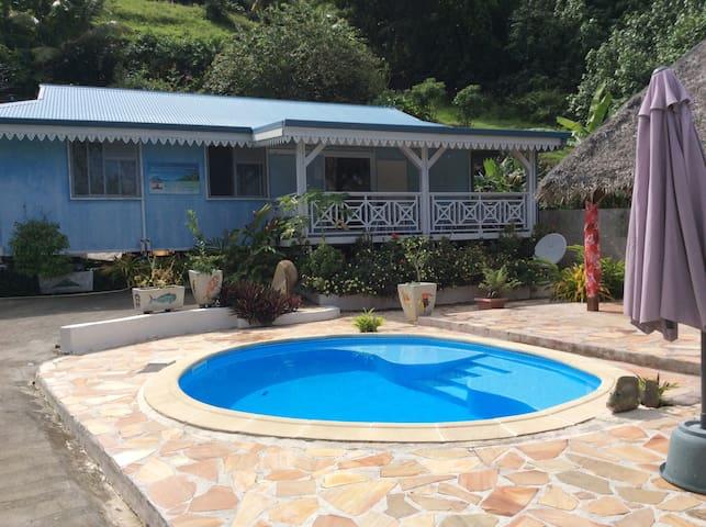 Chez Daniel et Loana chambre privée - Bora Bora - Casa de huéspedes