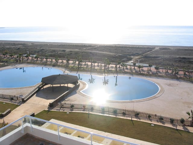 Wonderful penthouse and  sea views - Ejido - Appartement