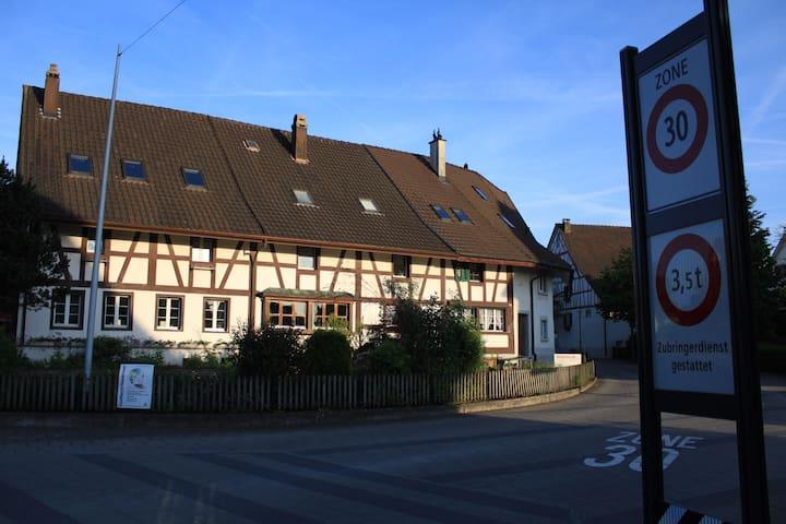 300 year-old farmhouse close to Zürich - Niederhasli