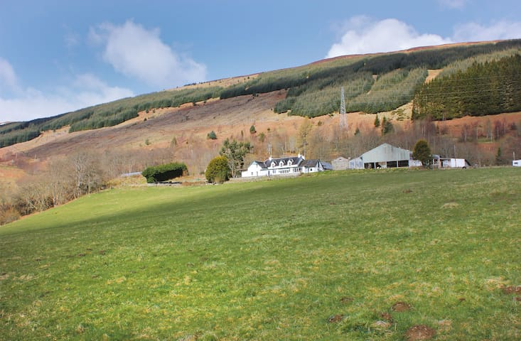 Bunkhouse with amazing Loch views - Fearnan - Otros