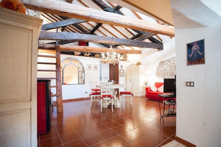 Appartamento con soppalco - Pitigliano - Huoneisto