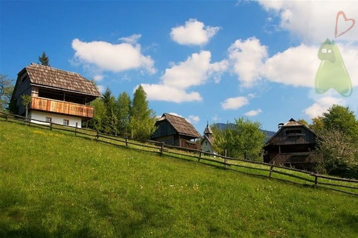 Renovated granary Vrh - Podveža - Haus
