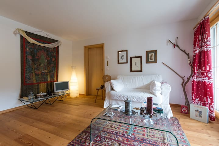 Charming apt near Engadin Golf - Zuoz - Daire