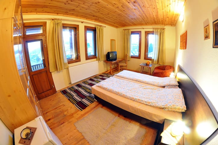 Eco House Large Apartment - Chepelare - Bed & Breakfast
