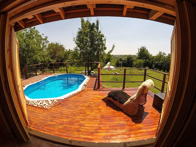 Holiday home in rural Bulgaria. - Popovo