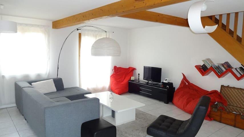 Comfortable house with garden - Saint-Ouen-l'Aumône - Casa