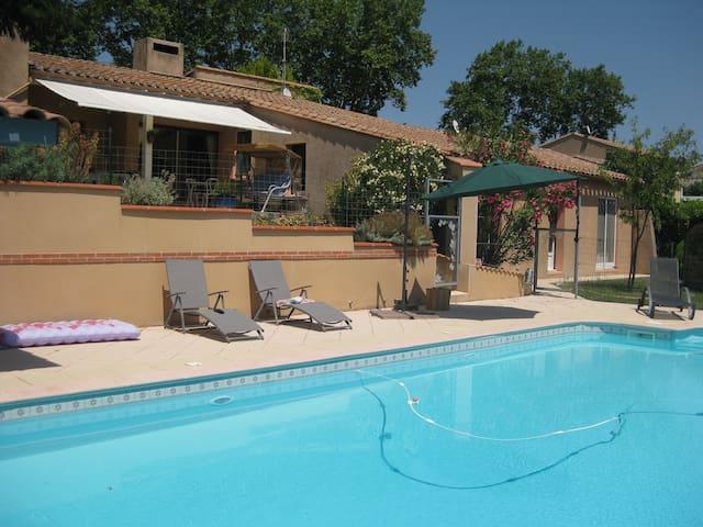 Maison de caractère avec piscine - Belvèze-du-Razès - Hus