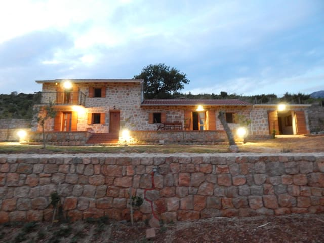 Villa Mara with breathtaking view just for you - Seline - Huis
