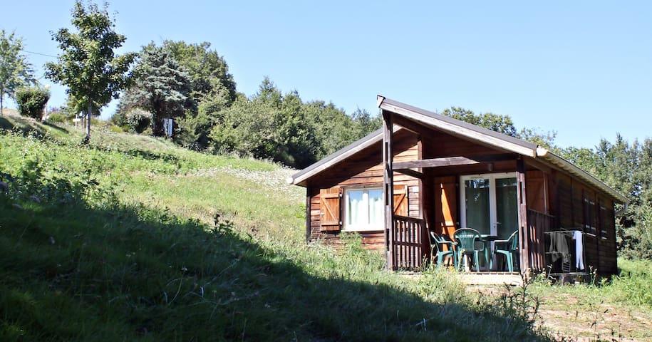Chalet dans un camping, Albi - Tarn - Saint-Cirgue - Hytte (i sveitsisk stil)