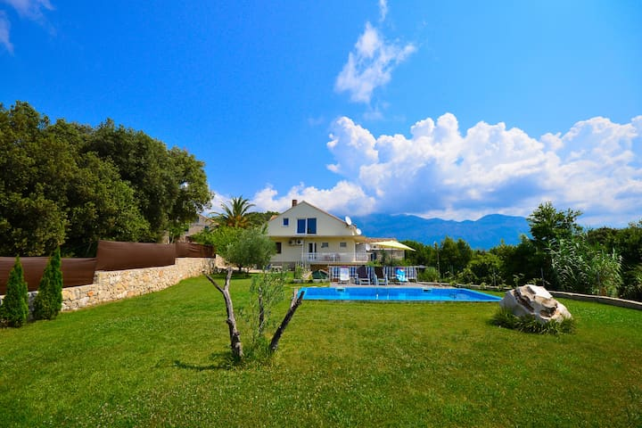 Fantastic Villa Antun&private pool - Komaji - Appartement
