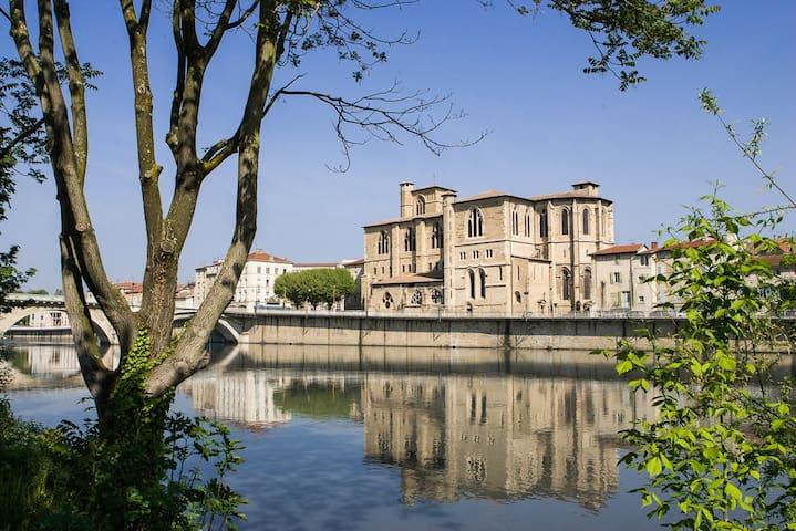 Petit studio en centre-ville - Bourg-de-Péage - Wohnung