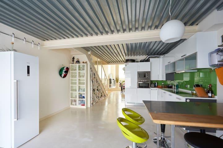 Duplex loft San Fermin Pamplona - Ansoáin - Vindsvåning