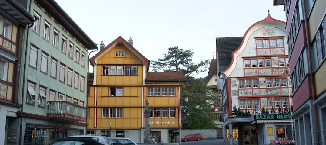 Guestrooms in the heart of Appenzel - Appenzell
