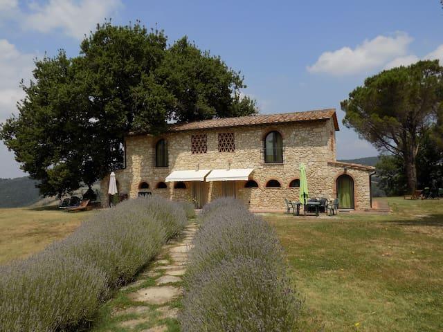 Podere Grignano, beautiful Tuscany - Volterra - Casa