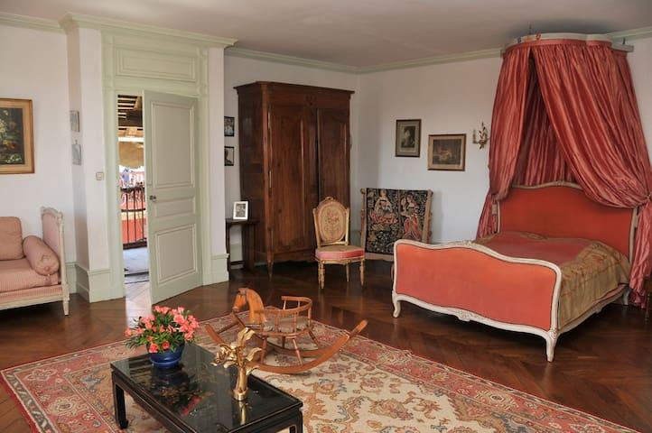 Luxury en-suite Bedroom in a Castle - Ambutrix - Slott