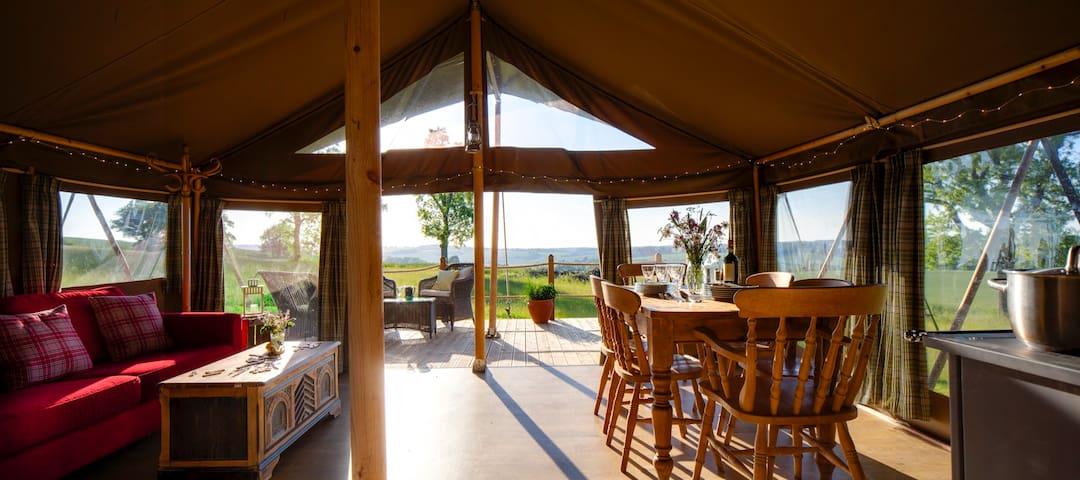 Yellowhammer - Luxury safari tent, stunning views - Petersfield - Tent