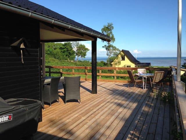 Sommerhus med udsigt over Lillebælt - Haderslev - 小屋