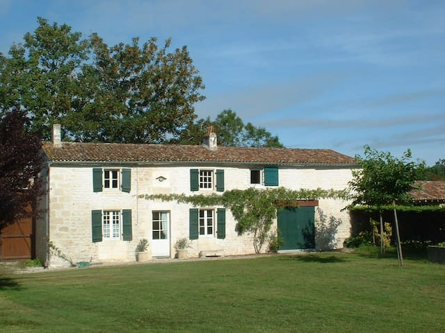 River cottage Ferme de La Baine - Chaniers - Hus