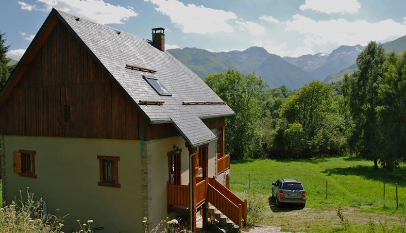 Chalet in the French Pyrénées - Cathervielle - スイス式シャレー