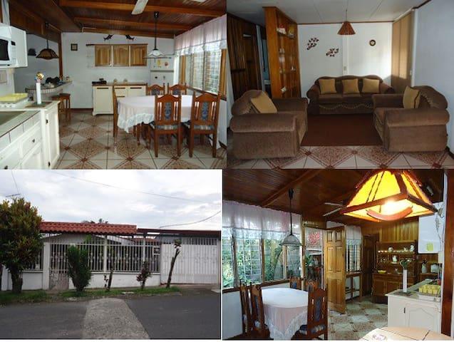 Your Home in Turrialba ! - Turrialba - Casa