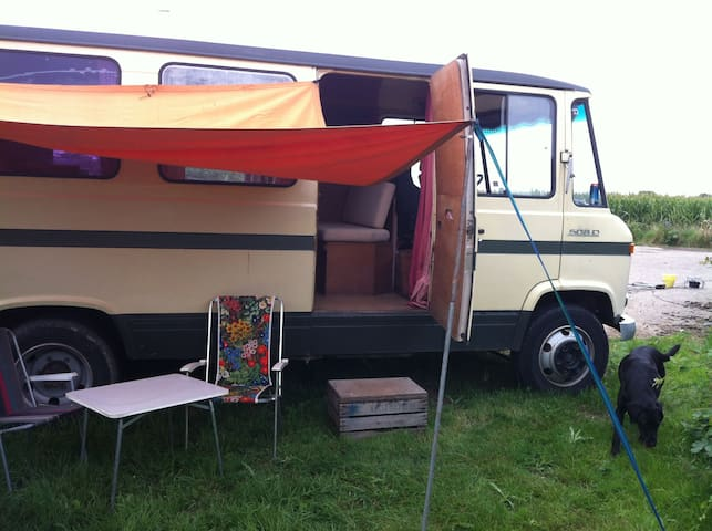Seventies camper in the Betuwe - Rumpt