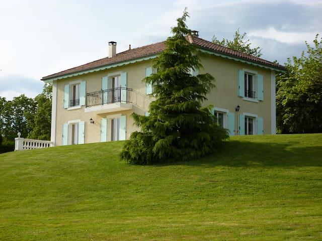chambre 1 personne à la campagne - Montseveroux