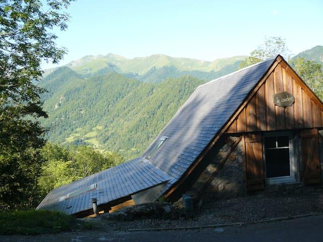 Grange de montagne plein sud (WiFi) - Ustou - Huis