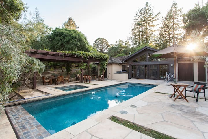 Sweeping View Private Spa Estate - Portola Valley - Huis